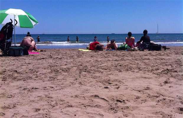 Playa El Cabañal-Arenas