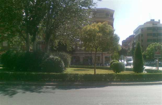 """Glorieta de los """"Valencianos"""""""