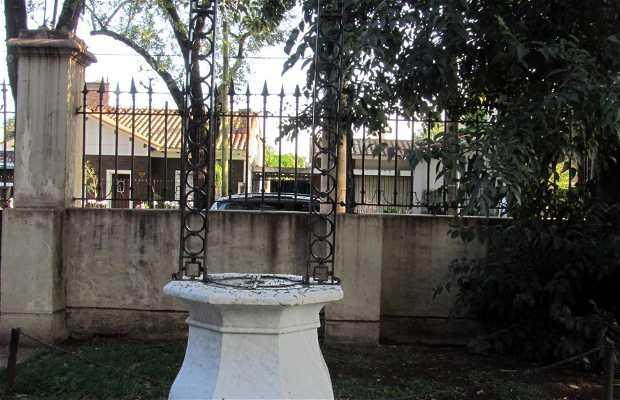 Aljibe en el Jardín de Villa Hortensia