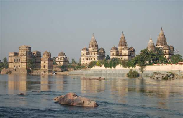 Cenotafios de Chhatris