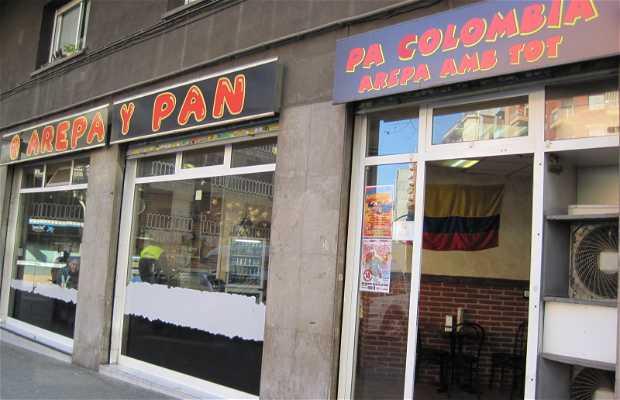 Arepa y Pan
