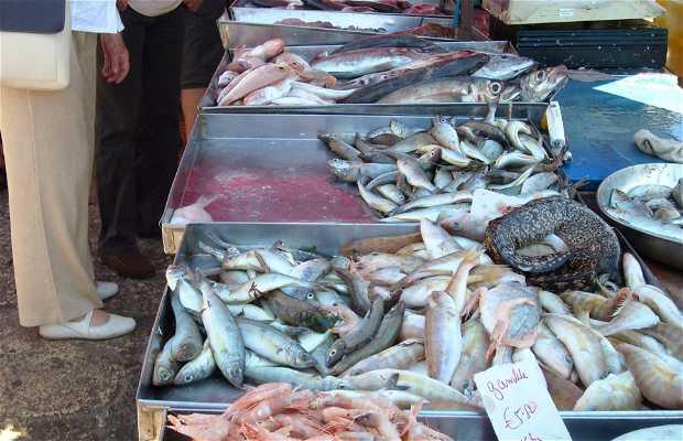Mercato del pesce a Marsaxlokk