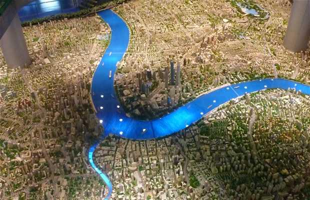 Centre d'exposition de la planification urbaine de Shanghai