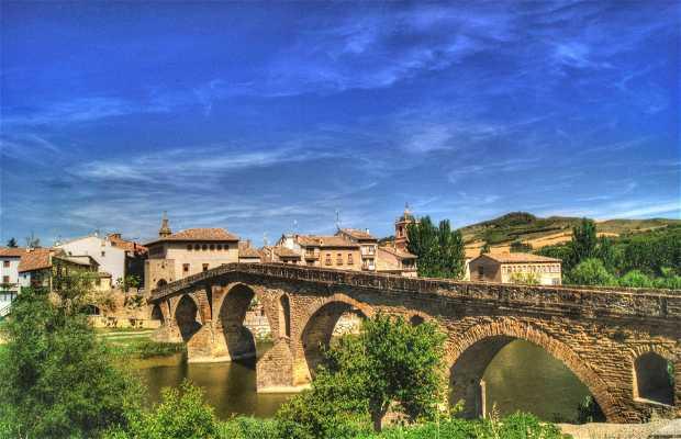 Puente Románico sobre el Arga