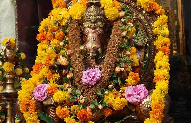 La salida anual del dios Ganesh