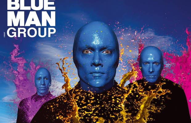 Blue Man Group Show at the Venetian