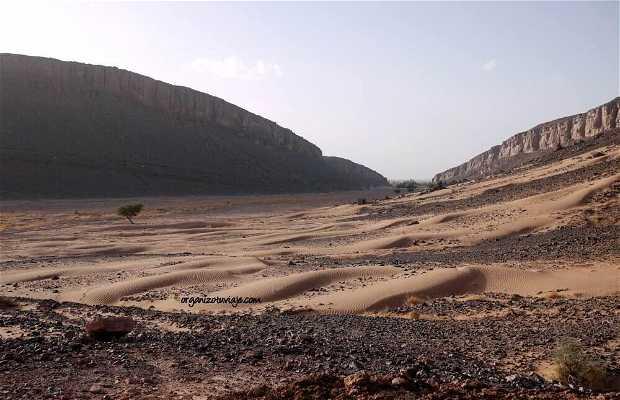 Foum Mharech en el Desierto del Sahara
