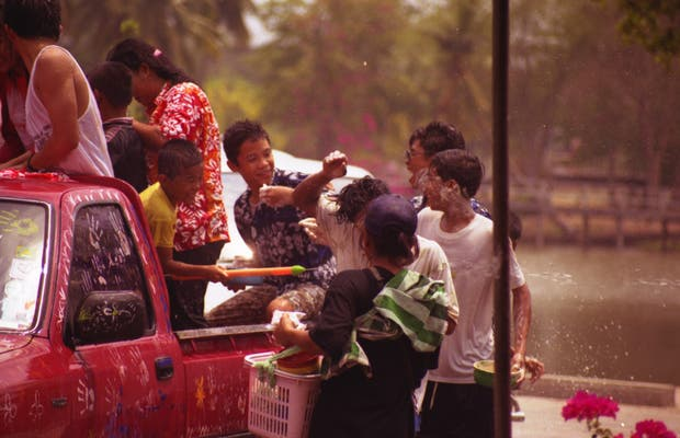 Songkran in Ayuthaya