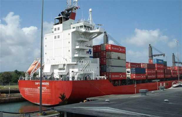 Chiuse di Gatun sul Canale di Panama