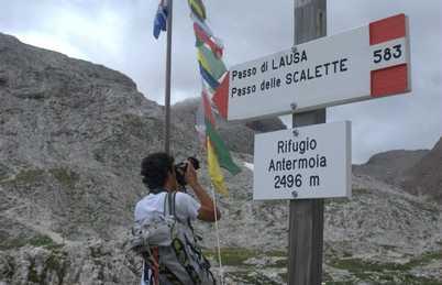 Refugio Antermoia, Canazei, Italia