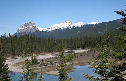 Montanhas Rochosas de Calgary