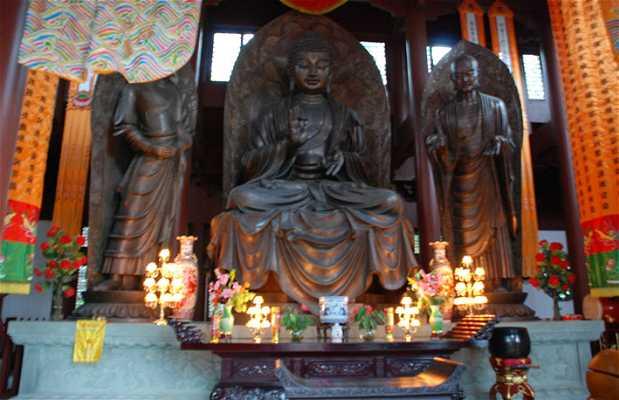 Budas en el monasterio de Yongfu