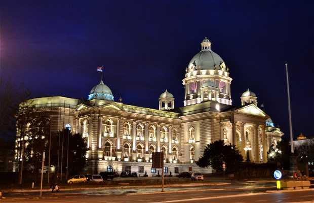 Sede del Parlamento Nacional de Serbia