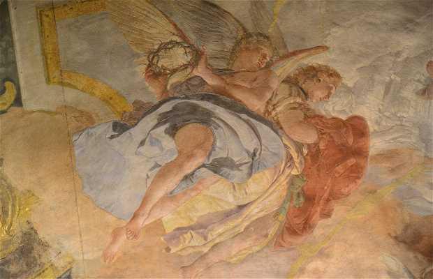 Tiepolo nella Chiesa degli Scalzi a Venezia