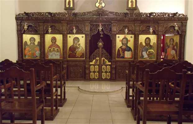 Interiores Iglesia Agias Sophia (Strovolos)