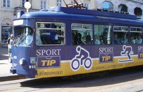 Trams in Zagreb
