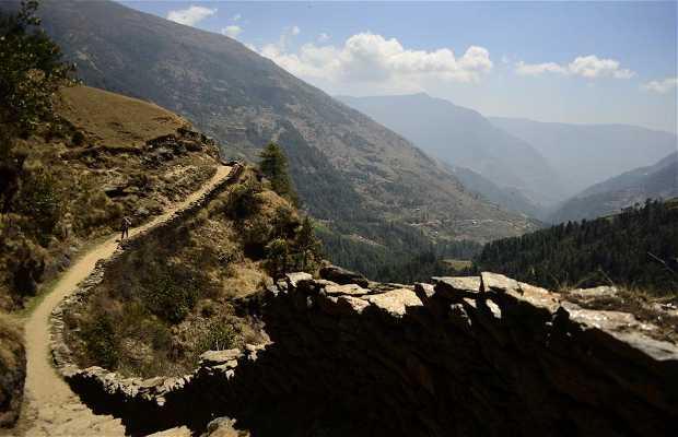 Trekking da Jiri a Lukla