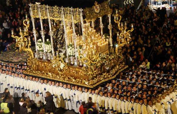 Balcón para ver Semana Santa de Málaga