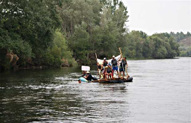 Las barcas de la fiesta de San Doménec, Miravet