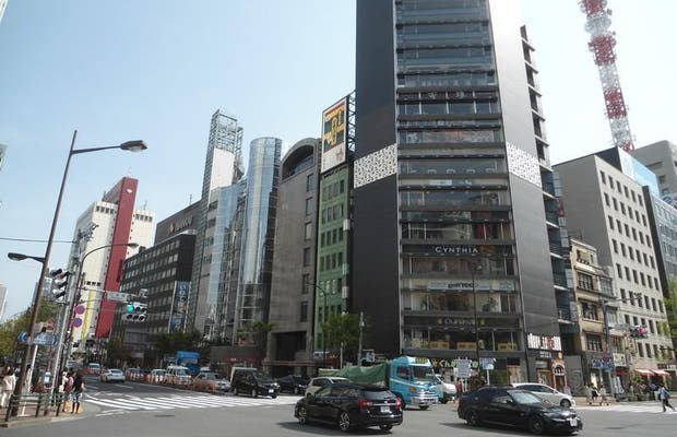 Ginza Yonchome Intersection