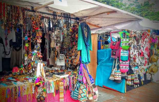 Mercado artesanal de Las Aguas