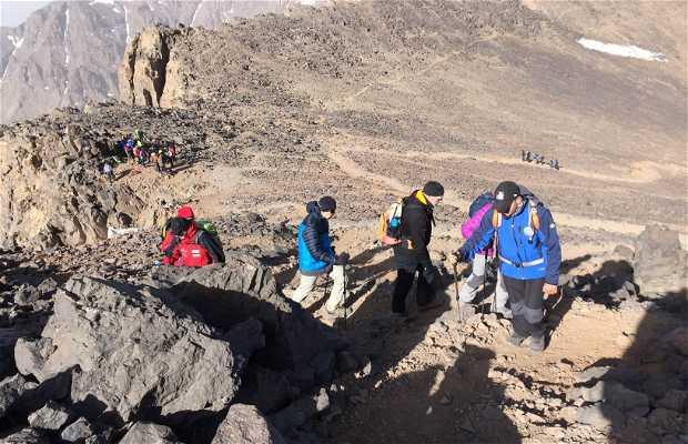 Trekking en Toubkal
