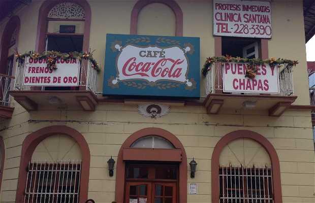 Cafe coca cola