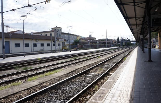 Lucca Railway Station