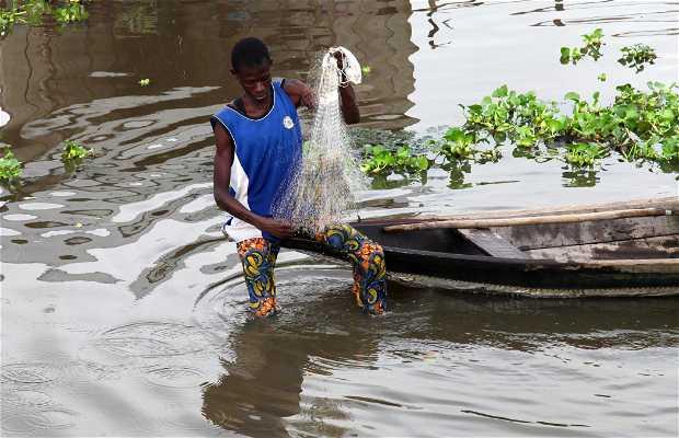 Los pescadores del lago Nokoué