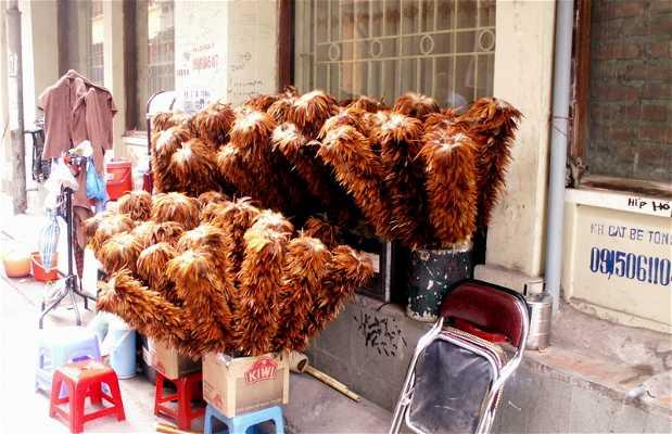 Bairro antigo de Hanoi