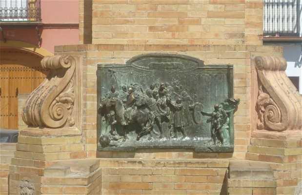 Estatua de Fray Antonio de Marchena