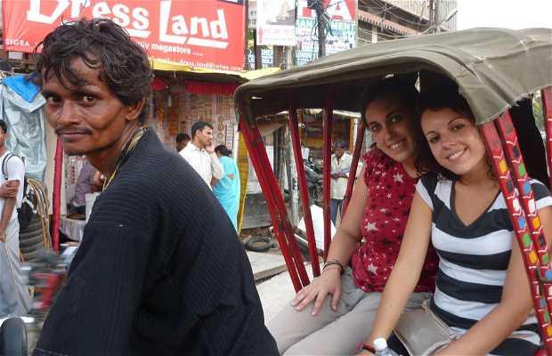 Varanasi en Ciclorickshaw