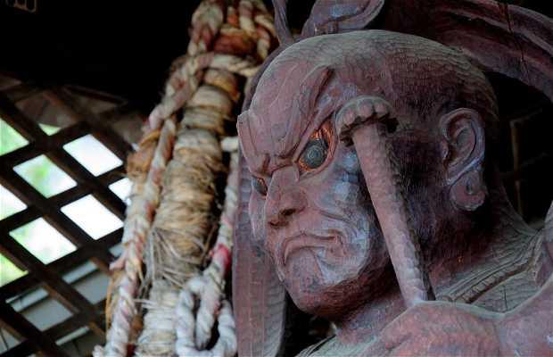 Route à pied par les temples Higashiyama