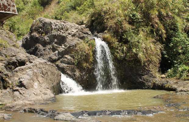 La pequeña cascada de Sagada