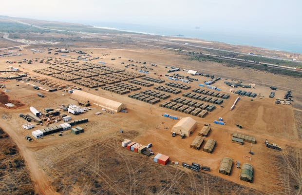 Camp Pendleton US army