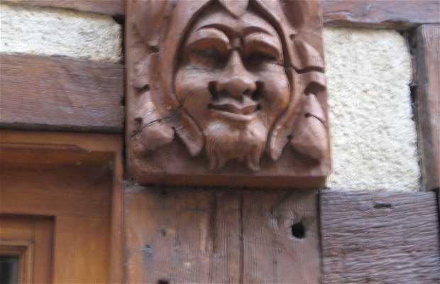 Esculturas de casas