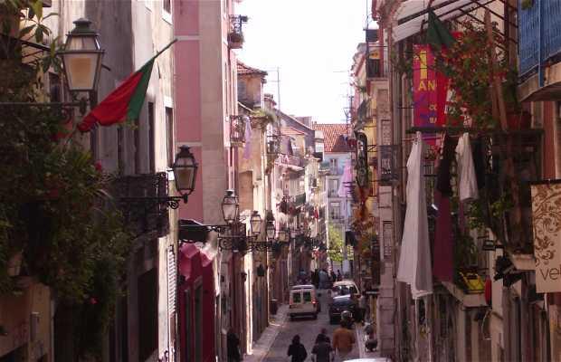 Quartiere Alto di Lisbona