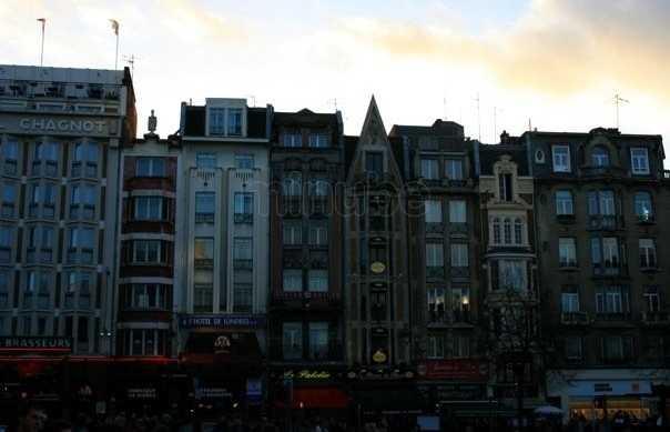 La zona vecchia di Lille