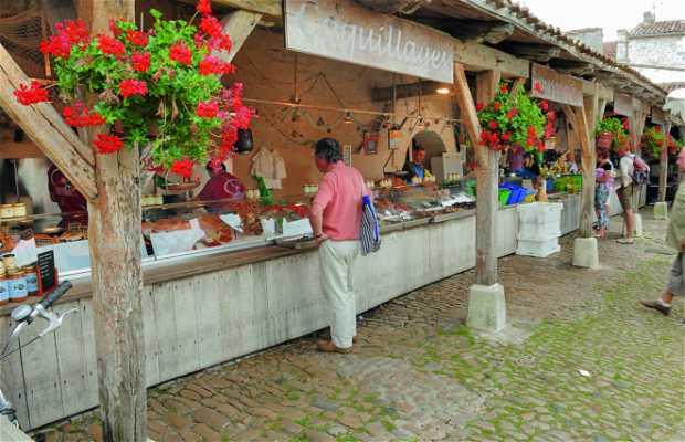 Medieval market of La Flotte
