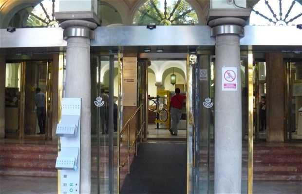 Building of Postal and Telegráfos