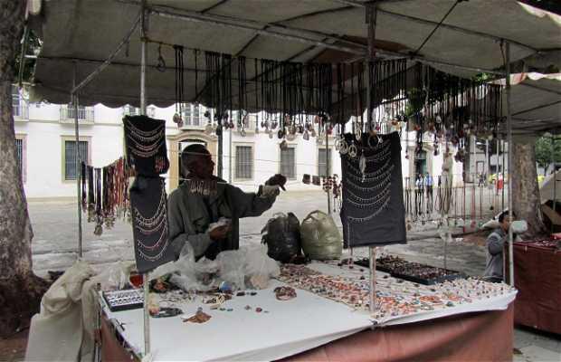 Mercadilo en Praça Quinze de Novembro