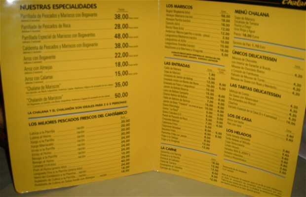 Restaurante La Chalana