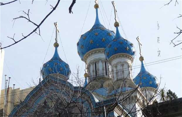 Iglesia Ortodoxa Rusa de la Santísima Trinidad.