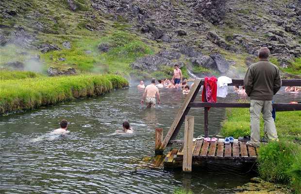 Sources chaudes du Landmannalaugar