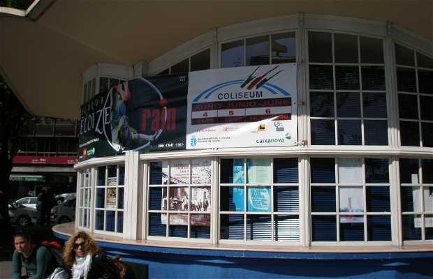 Oficina de Información turística plaza Ourense