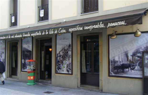 Café-taverne La botica indiana