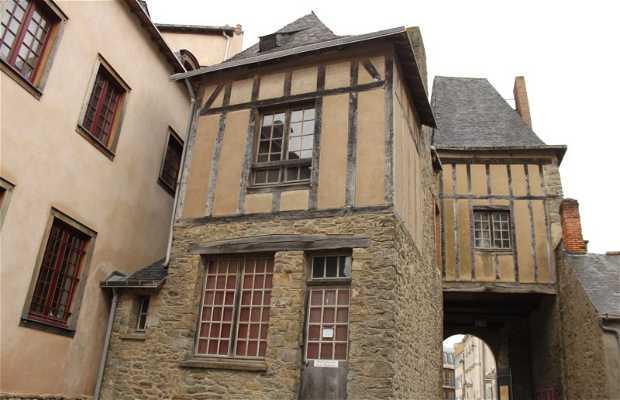 Castelo antigo de Laval