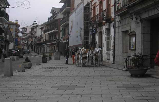 PLaza del Ayuntamiento de Cercedilla