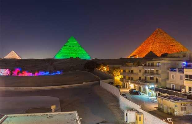 Terraza del Pizza Hut de Giza