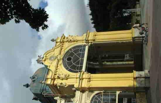 Impresionante estructura de hierro y vidrio en Marianske Lazne